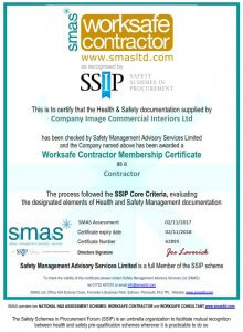 SMAS Worksafe certificate in health and safety
